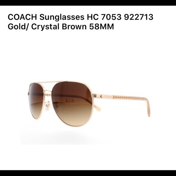 0b0cc445a Coach Accessories   Sunglasses Hc 7053 L237   Poshmark